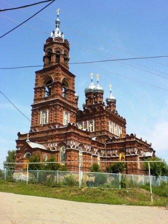 Церковь села Семьяны